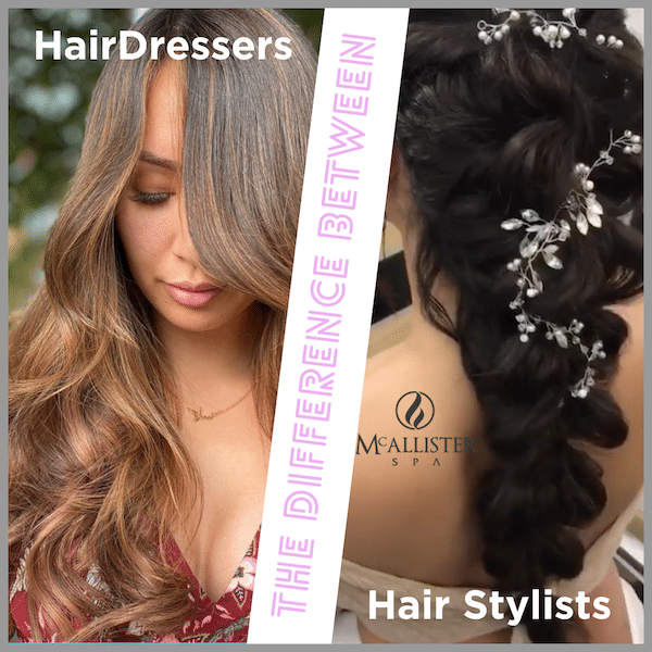 Difference between hair stylists and hairdressers