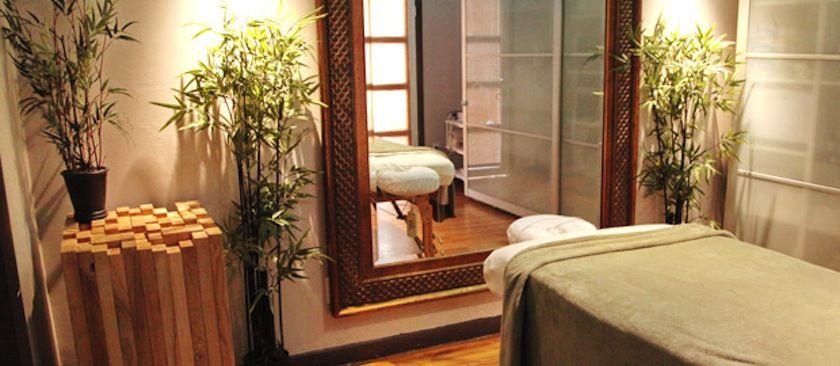 Massage Therapy Room at McAllister Spa in South Beach